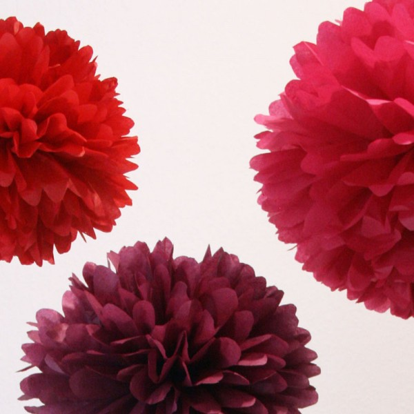 PomPom Set M WILD BERRIES