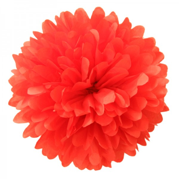 PomPom | cherry red | kirschrot