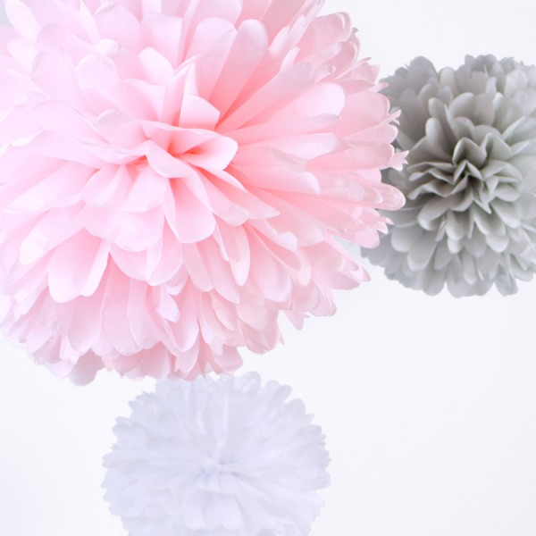 PomPom Set M COTTON CANDY