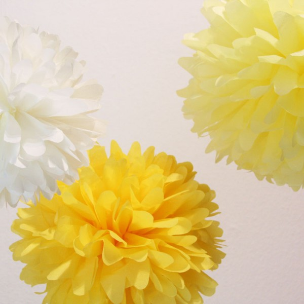PomPom Set M LEMON SODA